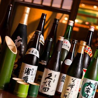 日本酒、多数ご用意ございます。