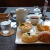 エピドルージュ - 料理写真:ドリンク代プラス200円のモーニング(2017.4.28)