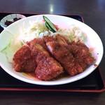 キッチンハウスマスダ - チキンカツ  もも肉2枚