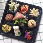 ブロッコ - 料理写真:9デリ弁当♪野菜たっぷりのお弁当!