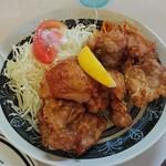 冨士ランチ - 鶏唐揚げ定食