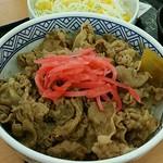 吉野家 - 料理写真:牛丼 Aセット