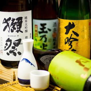 プレミアム日本酒入荷◆ドリンク飲み放題は常時100種ご用意