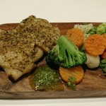 66224164 - ハーブチキンと野菜のグリル
