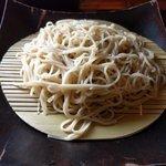 梵保庵 - ざる蕎麦(更科)