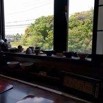 梵保庵 - 店内からの景色