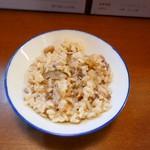 中華そば 嘉一 - 鶏飯