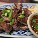 TAI THAI - 豚の首肉の炒め物