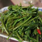 TAI THAI - 空芯菜炒め