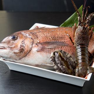 ★漁師より直接仕入れる鮮度抜群の魚介は必食!