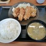 からやま - からやま定食(梅)650円