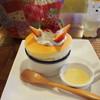 ピーチツリーカフェ - 料理写真:いちごのスフレケーキ
