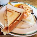エヴァンス - ホットサンド・目玉焼き・スパゲッティ