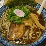 つけめん舎一輝Anjo - 魚爆ラーメン、太麺