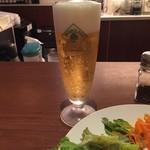 カフェ バニヤン - H29.4 ハッピーアワーで生ビール