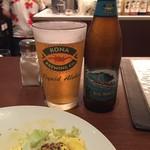 カフェ バニヤン - H29.4 ハッピーアワーでハワイアンビールのビッグウエーブ