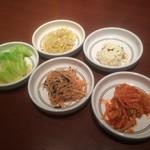 アリラン - 副菜5皿