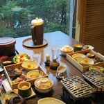 嵯峨沢館 - 料理写真:朝食