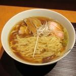 麺 みつヰ - 醤油・手もみ麺太さ