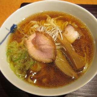 麺 みつヰ - 料理写真:醤油・手もみ麺