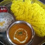 印度れすとらん カシミール - キーマカレー ご飯が多かったデス