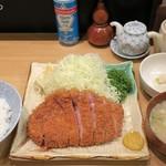 とんQ - ロースかつ定食1,950円
