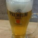 麺家獅子丸 - 生ビール