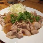 酒菜 竹井 - 豚ポン酢