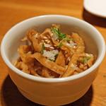 阿佐ヶ谷バードランド - 軍鶏皮の二杯酢