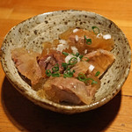 阿佐ヶ谷バードランド - 砂肝の煮こごり