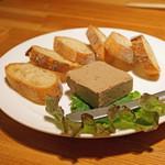 阿佐ヶ谷バードランド - 自家製レバーのパテ