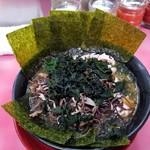 66241614 - チャーシュー麺 海苔増し、わかめきくらげ増し