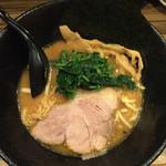 麺屋 大和田 - 大和田ラーメン (豚骨醤油)