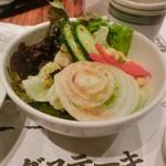 寛屋 - 洋風セットのサラダ