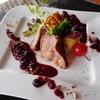 島豚肉のロースト ベリー風味の赤ワインソース