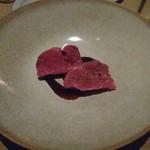 THE GATEHOUSE - オーストラリア産牛ヒレ肉の塩釜包み焼き 赤ワインのソース