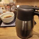 66244445 - 蕎麦湯のポット