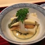 銀座 しのはら - 古典的な京料理のおはらぎ(大原木)