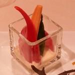 グラナダスィート 福岡 - 野菜スティック味噌ディップ
