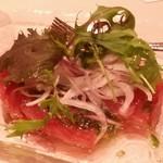グラナダスィート 福岡 - 鰹のカルパッチョ
