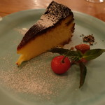 エスタシオン - 、バスク風チーズケーキ