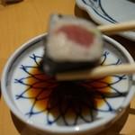 入舟 - [料理] 鉄火巻き ②