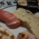 入舟 - [料理] 鮪 & 数の子 握り