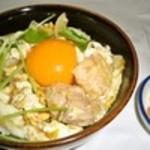 とり梅 - 料理写真:地鶏地卵親子丼ご膳