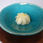 レストラン トエダ - 豆乳、佐久市春日、ボスケソのチーズ、信州林檎
