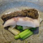 レストラン トエダ - 八千穂水産、信州大王大イワナ、タプナード、小松菜