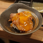 66248014 - ヒレ肉は糸島の「つまんでご卵」を使って すき焼き風に