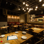 29TERIA BARUMICHI - ゆったり座れるテーブル席もご用意!
