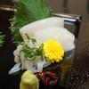Ginza - 料理写真:ヤリイカの造り