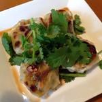 ラム&パクチー Salad days - ラムギョーザ